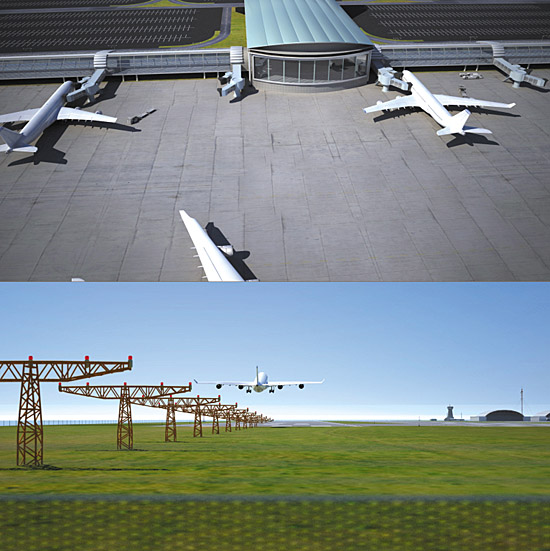 DOSCH 3D: Airport sample-image