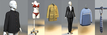 DOSCH 3D: Clothing sample-image