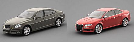 DOSCH 3D: Concept Cars 2007 sample-image
