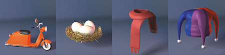 DOSCH 3D: Comic Objects sample-image