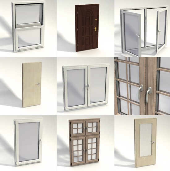 DOSCH 3D: Doors & Windows Details sample-image
