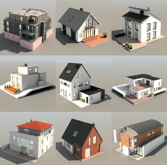 DOSCH 3D: European Houses sample-image