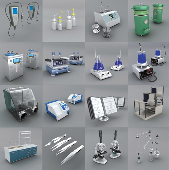 DOSCH 3D: Laboratory Equipment sample-image