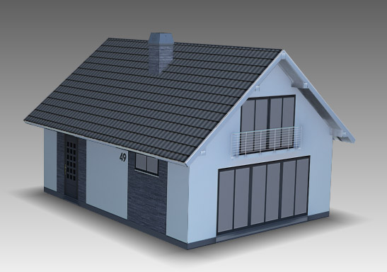 DOSCH 3D: Lo-Poly European Houses sample-image
