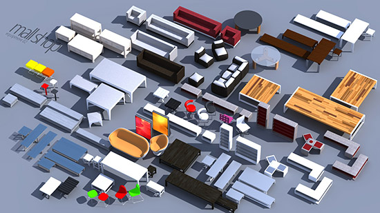 DOSCH 3D: Mall & Shop Details sample-image