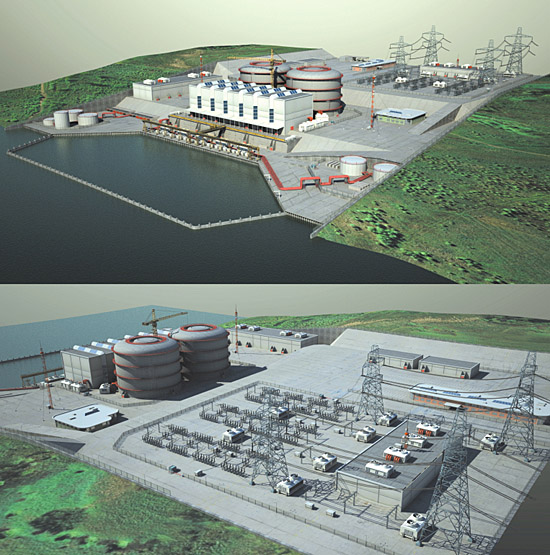 DOSCH 3D: Nuclear Power Plant sample-image