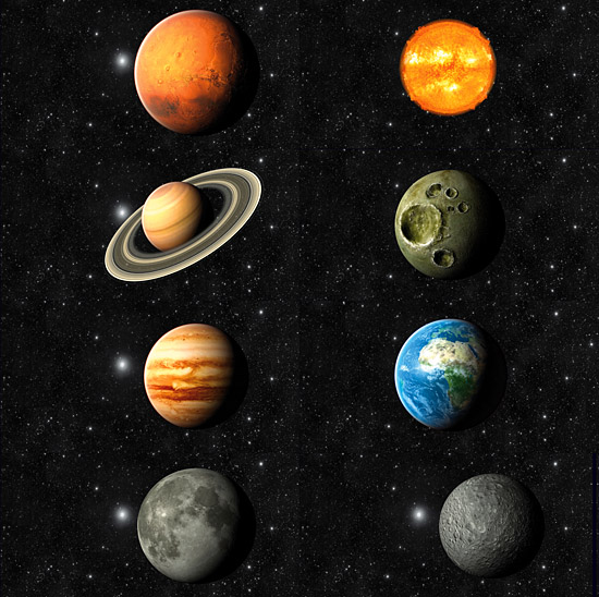 DOSCH 3D: Planets & Outer Space sample-image