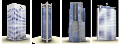 DOSCH 3D: Skyscrapers V1 sample-image