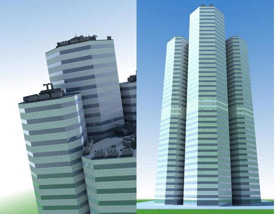 DOSCH 3D: Skyscrapers V2 sample-image