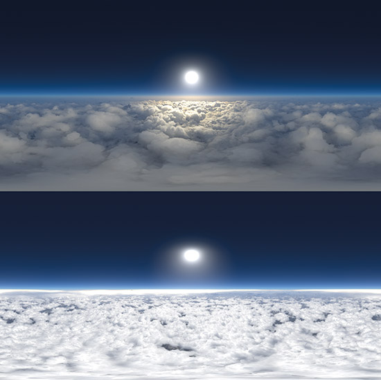 DOSCH HDRI: Above Clouds sample-image