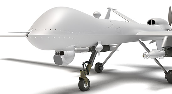 DOSCH 3D: Drone Military sample-image