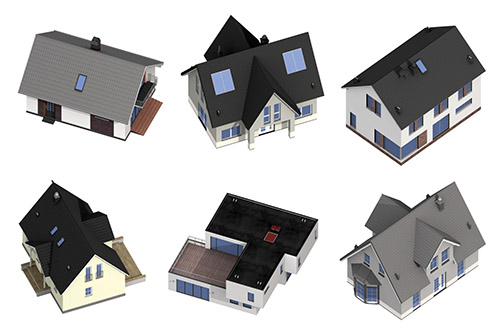 DOSCH 2D Viz-Images: Isometric - Buildings sample-image